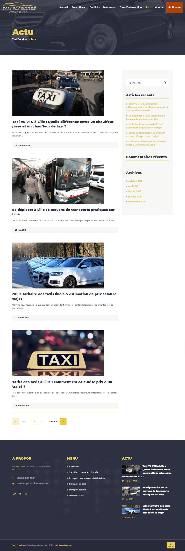 Taxi Flandres screen 4