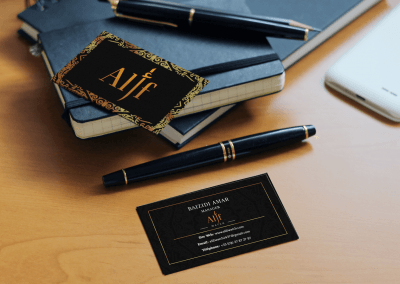 Cartes de visite pour Alif Watch