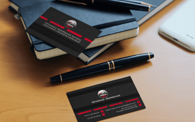 Business cards for Urban Dep'