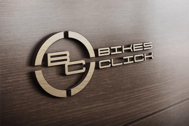 Logo Mockup Bikes Click